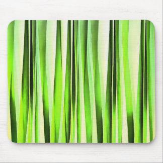 Mousepad Teste padrão Stripy verde eterno