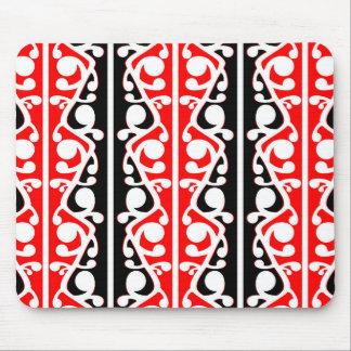Mousepad Teste padrão tribal maori de Kowhaiwhai