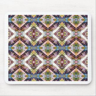 Mousepad Teste padrão tribal Pastel morno