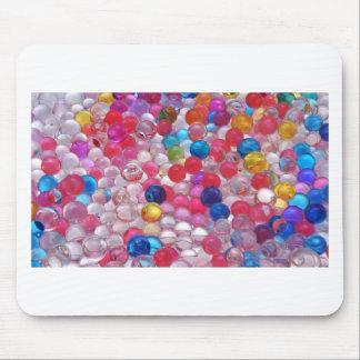 Mousepad textura das bolas da geléia do colore