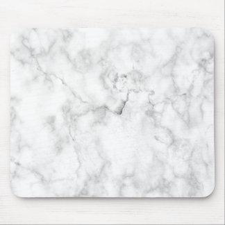 Mousepad Textura de mármore do falso branco e cinzento