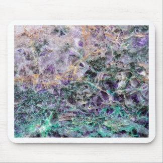 Mousepad textura de pedra amethyst