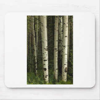 Mousepad Textura de um retrato da floresta