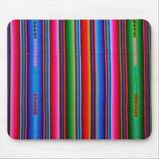 Mousepad Textura do tecido mexicano
