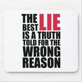 Mousepad The Best Lie