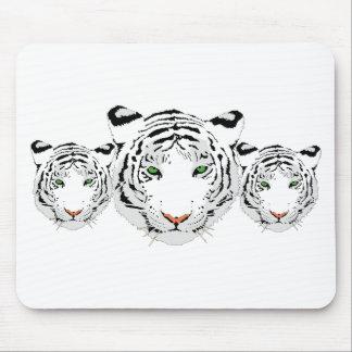 Mousepad Tigre feito sob encomenda personalizado da neve