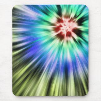 Mousepad Tintura colorida do laço de Starburst