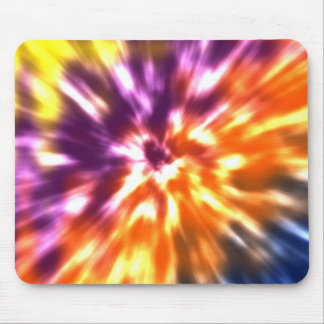 Mousepad Tintura retro Boho colorido do laço da paz do