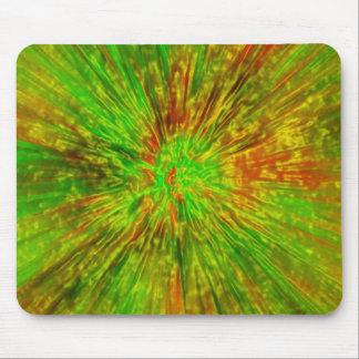 Mousepad Tintura verde do laço
