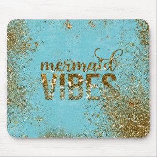 Mousepad Tipografia do brilho do ouro das Impressões da