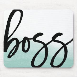 Mousepad Tipografia moderna do chefe