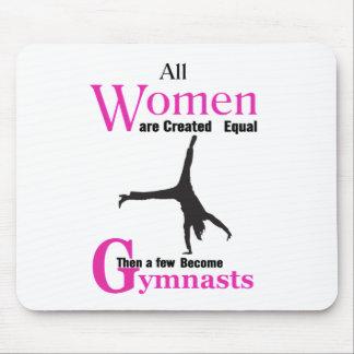 Mousepad Todas as mulheres são semelhante criado então um