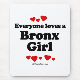 Mousepad Todos ama uma menina de Bronx