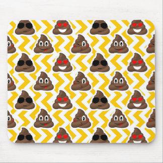 Mousepad Tombadilho amarelo Emojis do ziguezague