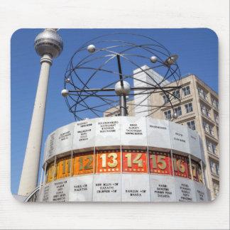 Mousepad Torre do pulso de disparo e da televisão do mundo,