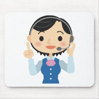 Mousepad Trabalhador das telecomunicações
