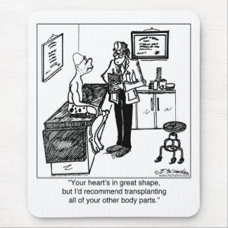 Mousepad Transplante todas as partes do corpo