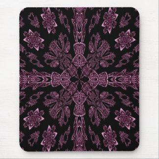 Mousepad transversal roxo e preto gótico
