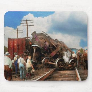 Mousepad Trem - acidente - cabeças de terminação 1922