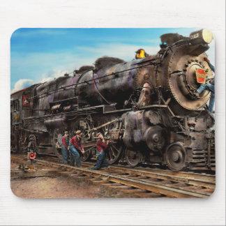 Mousepad Trem - trabalhando na estrada de ferro 1930