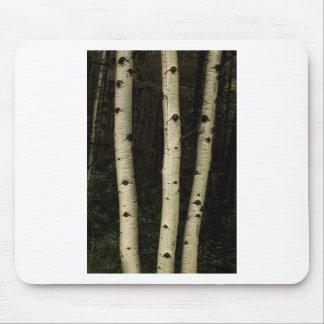 Mousepad Três colunas da floresta
