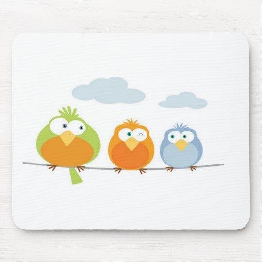 Mousepad Três Passarinhos / Tree little birds