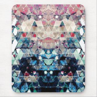 Mousepad Triângulos abstratos coloridos