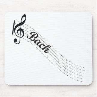 Mousepad Triplo da música clássica de Bach