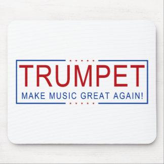 Mousepad TROMBETA - faça o excelente da música outra vez!