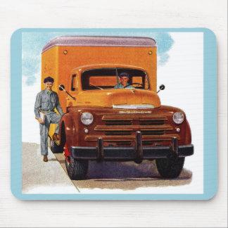 Mousepad truckin dos camionistas do caminhão