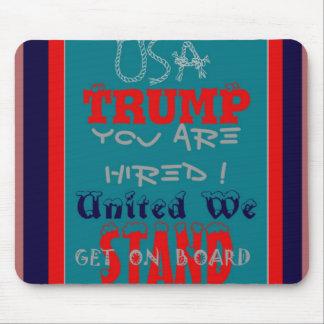Mousepad Trunfo dos EUA você é contratado! Unido nós