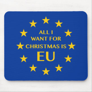 Mousepad Tudo que eu quero para o Natal é UE