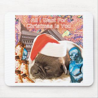 Mousepad Tudo que eu quero para o Natal é você