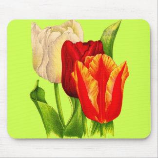 Mousepad tulipas
