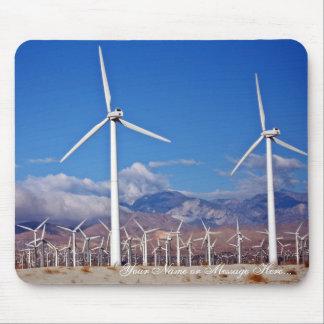 Mousepad Turbinas eólicas