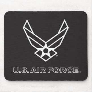 Mousepad U.S. Logotipo da força aérea - preto
