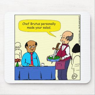 Mousepad Um Brutus de 904 cozinheiros chefe fez os desenhos