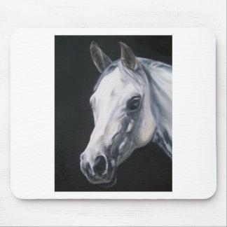 Mousepad Um cavalo branco