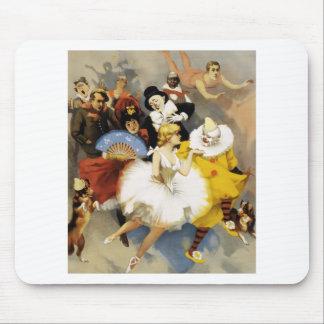 Mousepad Um circo dos dançarinos
