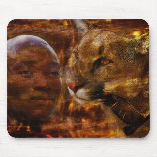 Mousepad Um guerreiro bravo em África do Sul