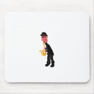 Mousepad Um homem que joga o saxofone