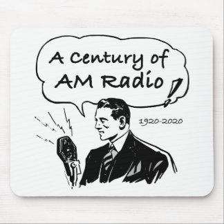 Mousepad Um século do rádio do AM