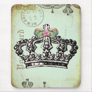 Mousepad uma coroa real apta para uma rainha