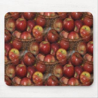 Mousepad Uma maçã um o dia…