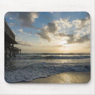 Mousepad Uma manhã gloriosa da praia