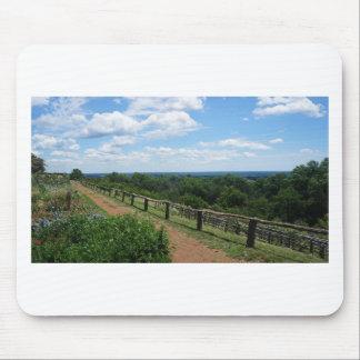 Mousepad Uma vista de Monticello