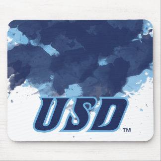 Mousepad Universidade da aguarela de San Diego | USD