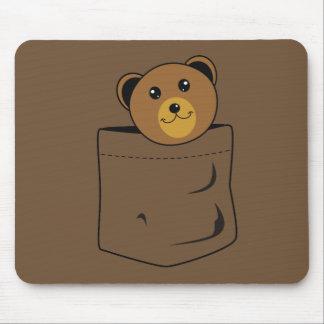 Mousepad Urso no bolso