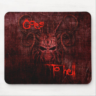 Mousepad Vai ao inferno