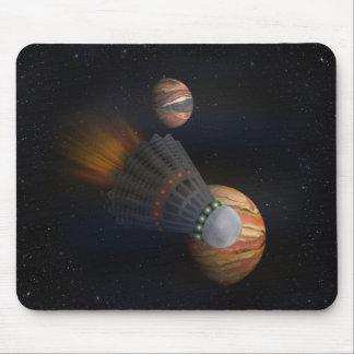 Mousepad Vaivém espacial de Shuttlecock